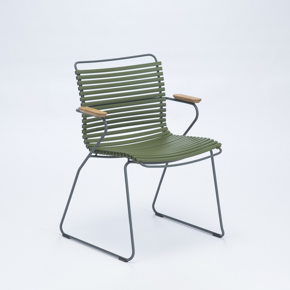 DINING CHAIR // Olive Green