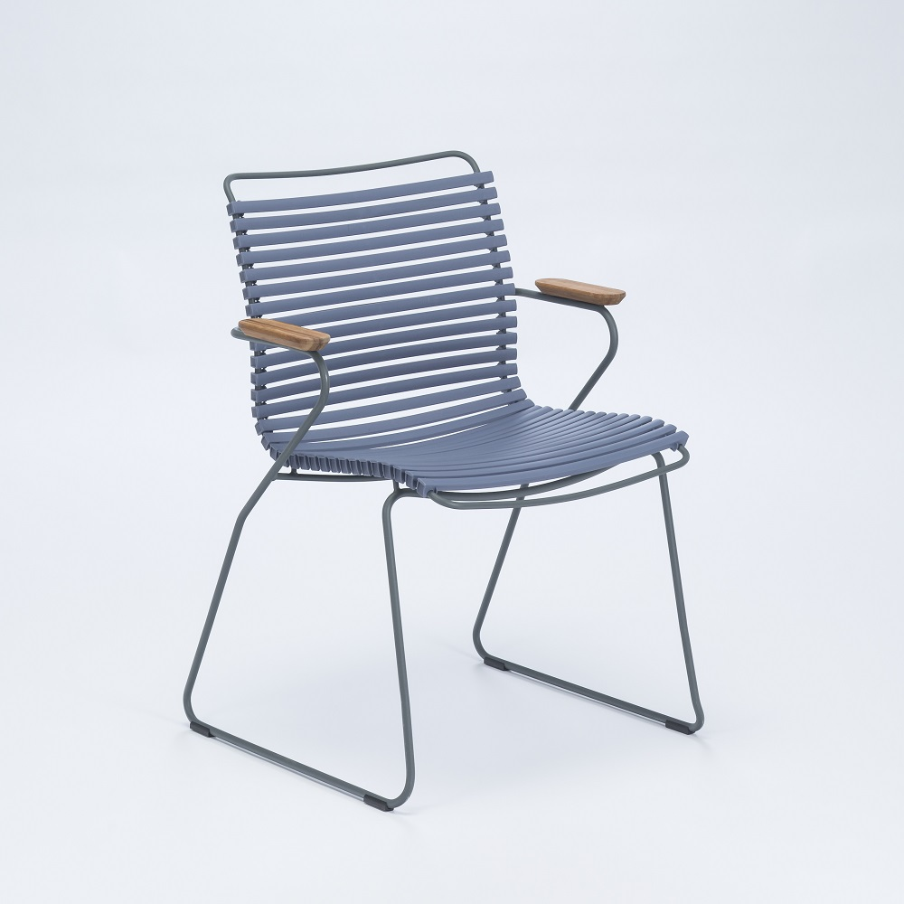 DINING CHAIR // Pigeon Blue