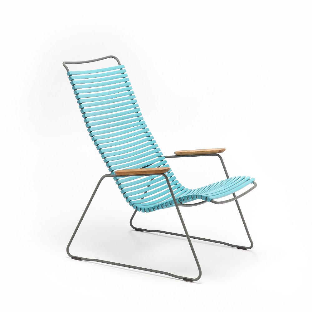 LOUNGE CHAIR - Turquoise