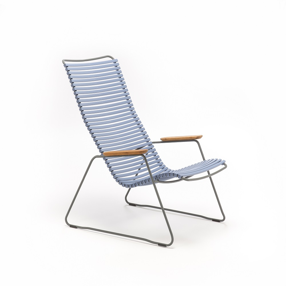 LOUNGE CHAIR // Pigeon Blue