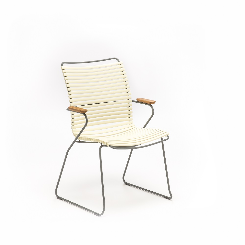 DINING CHAIR TALL BACK // White