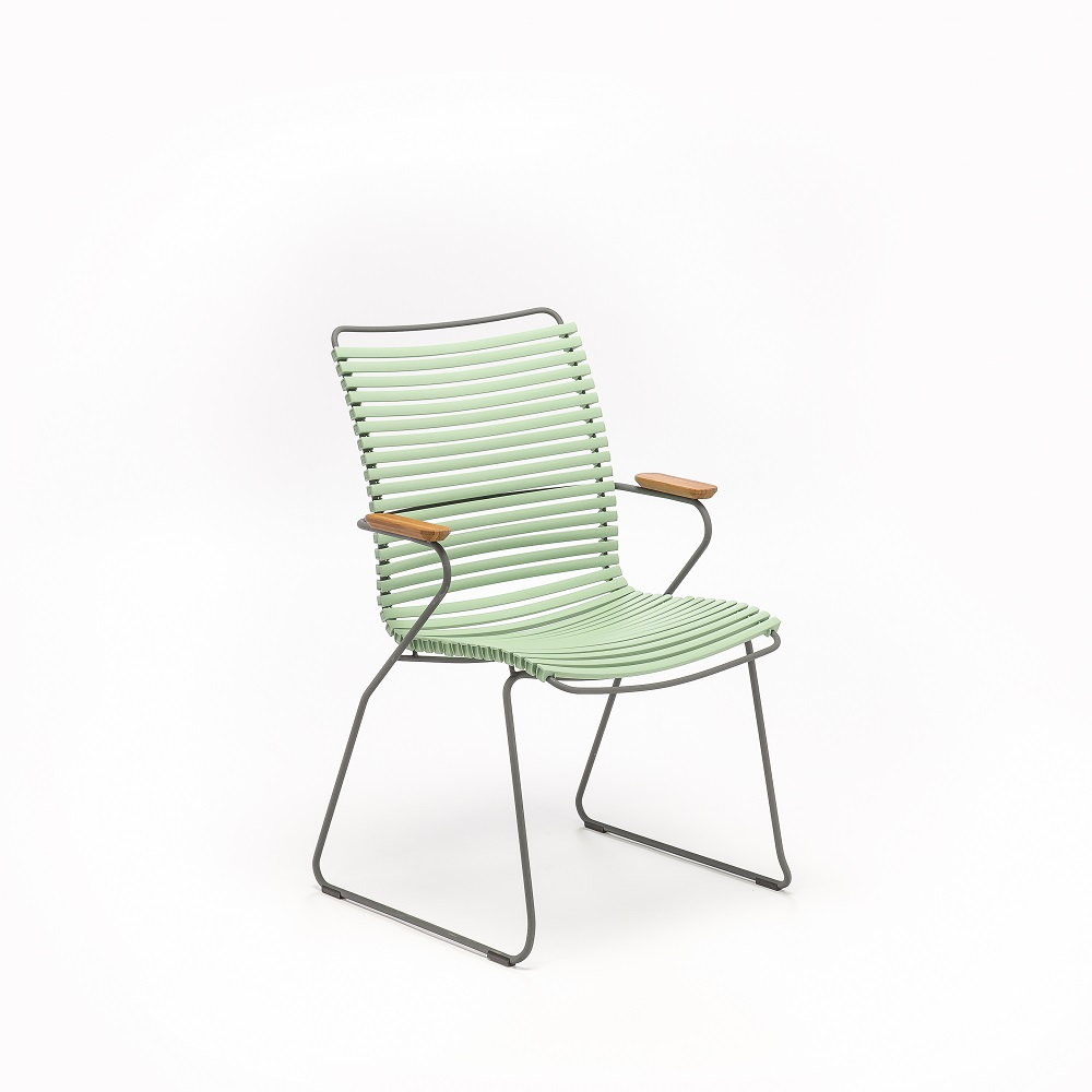 DINING CHAIR TALL BACK // Dusty Green
