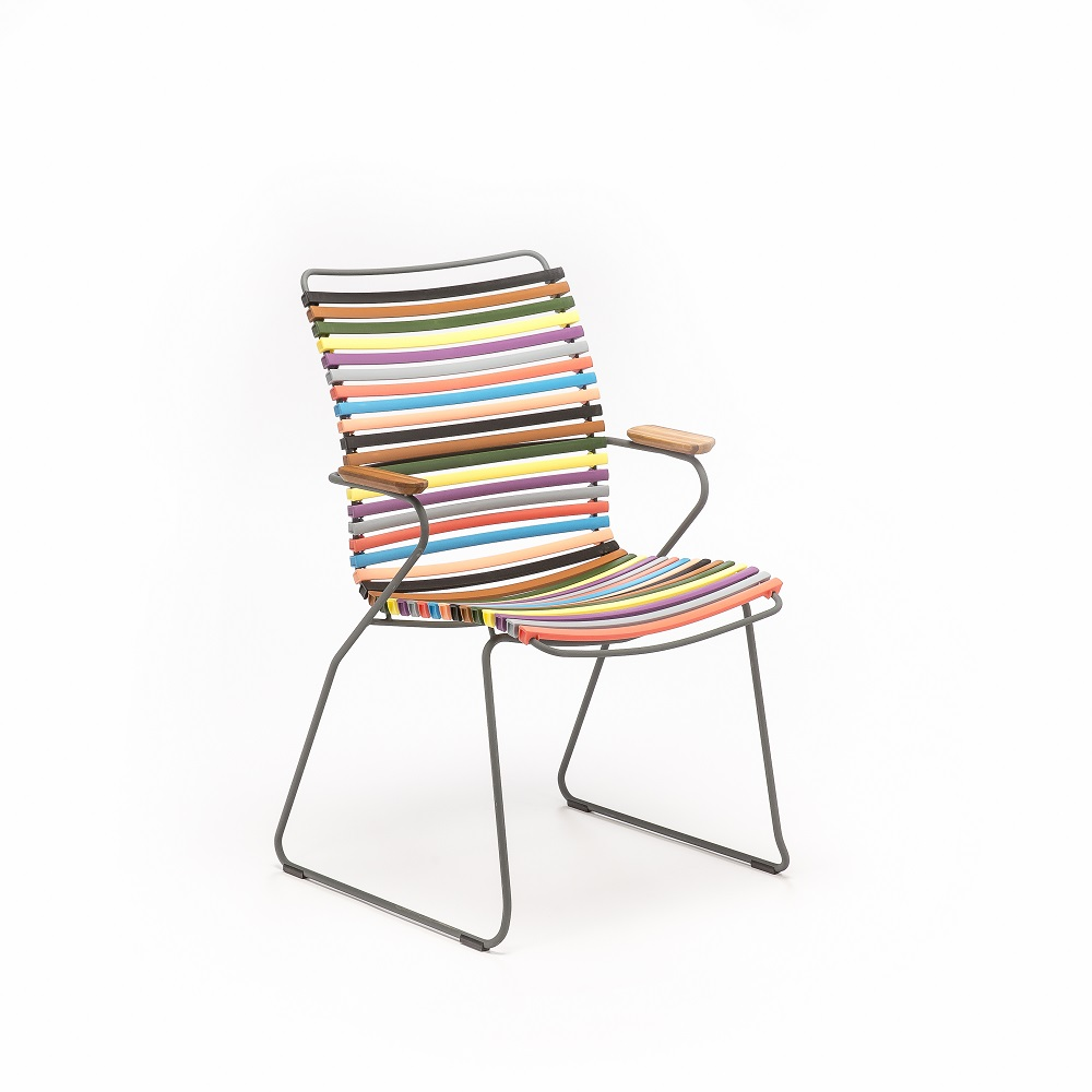 DINING CHAIR TALL BACK // Multi Color 1