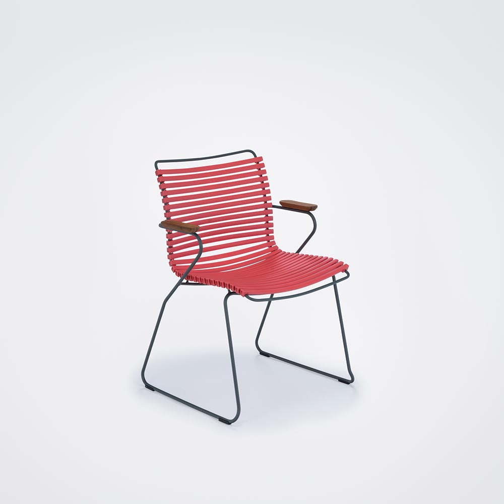 DINING CHAIR // Hot coral