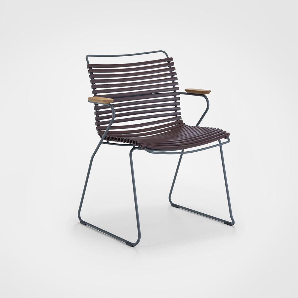 DINING CHAIR // Plum