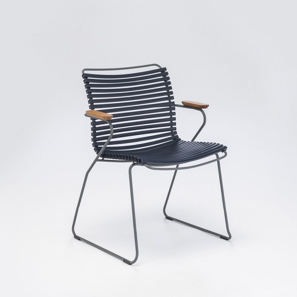 DINING CHAIR // Dark Blue