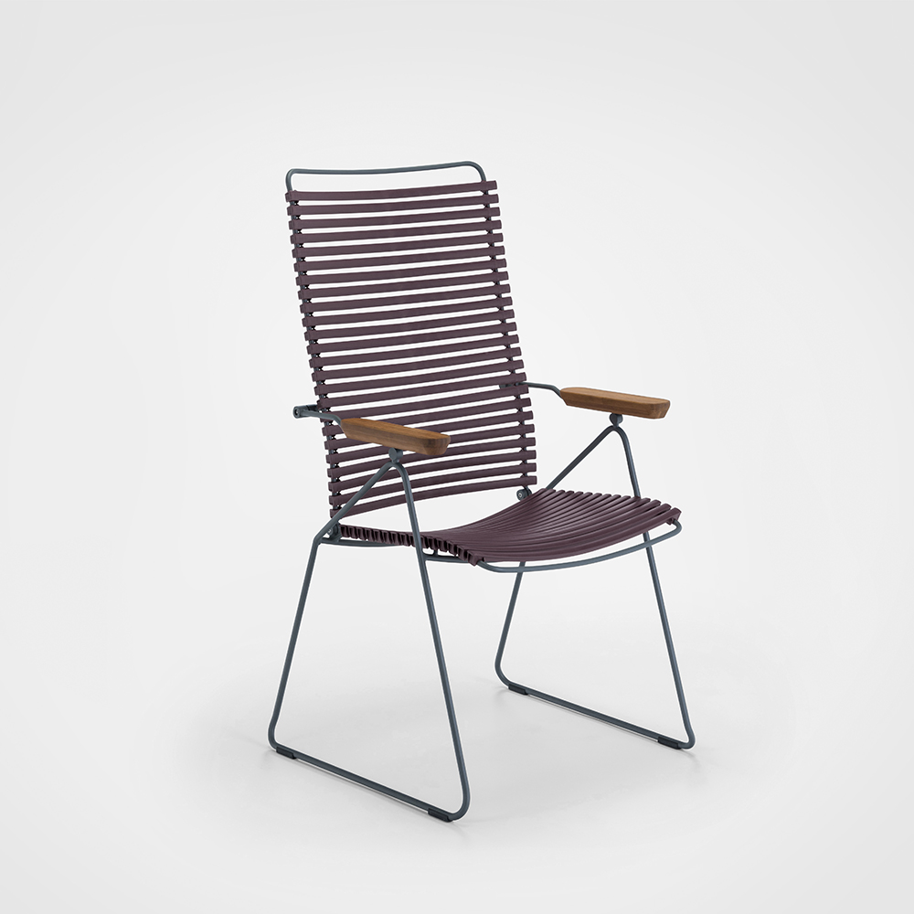 POSITION CHAIR // Plum