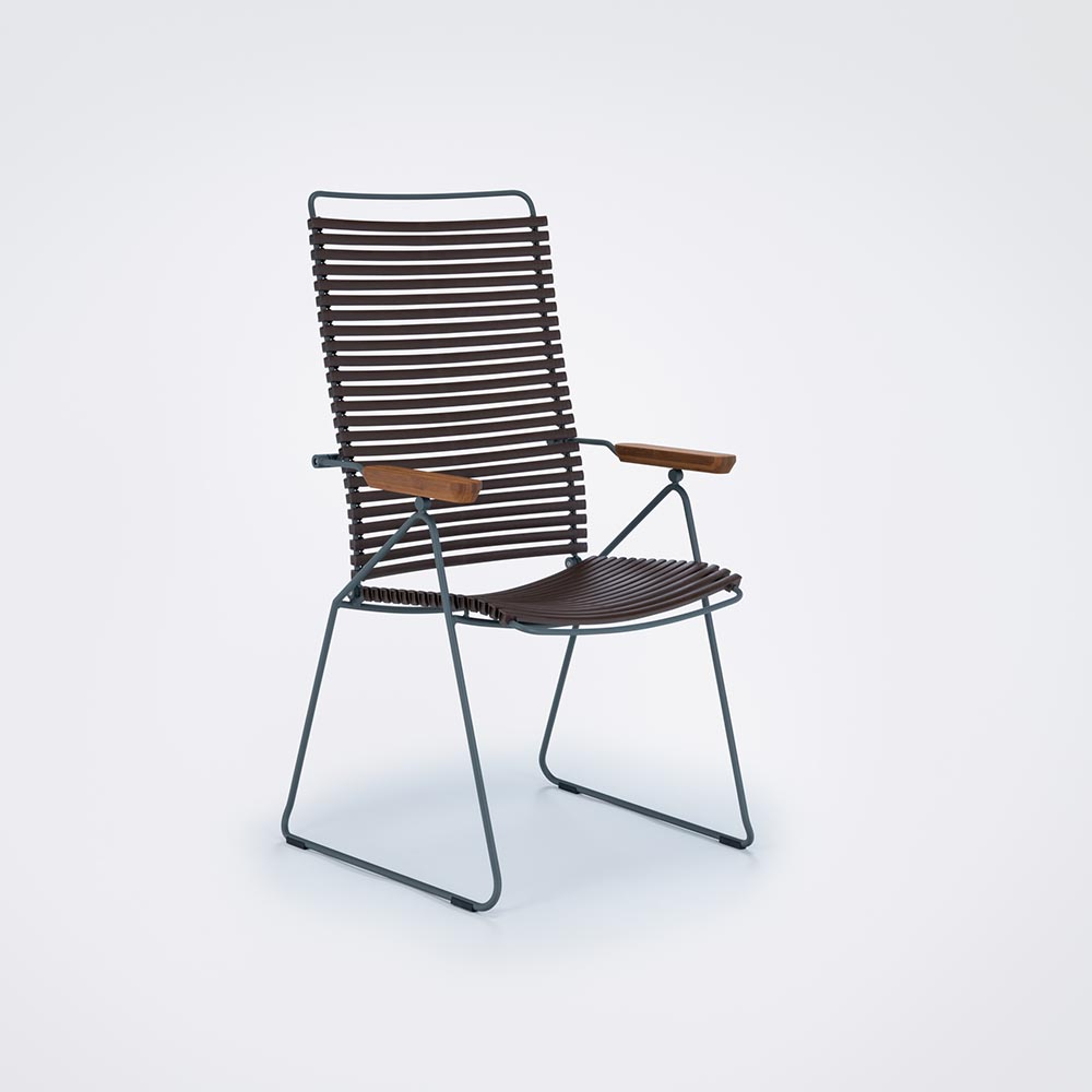 POSITION CHAIR // Dark brown