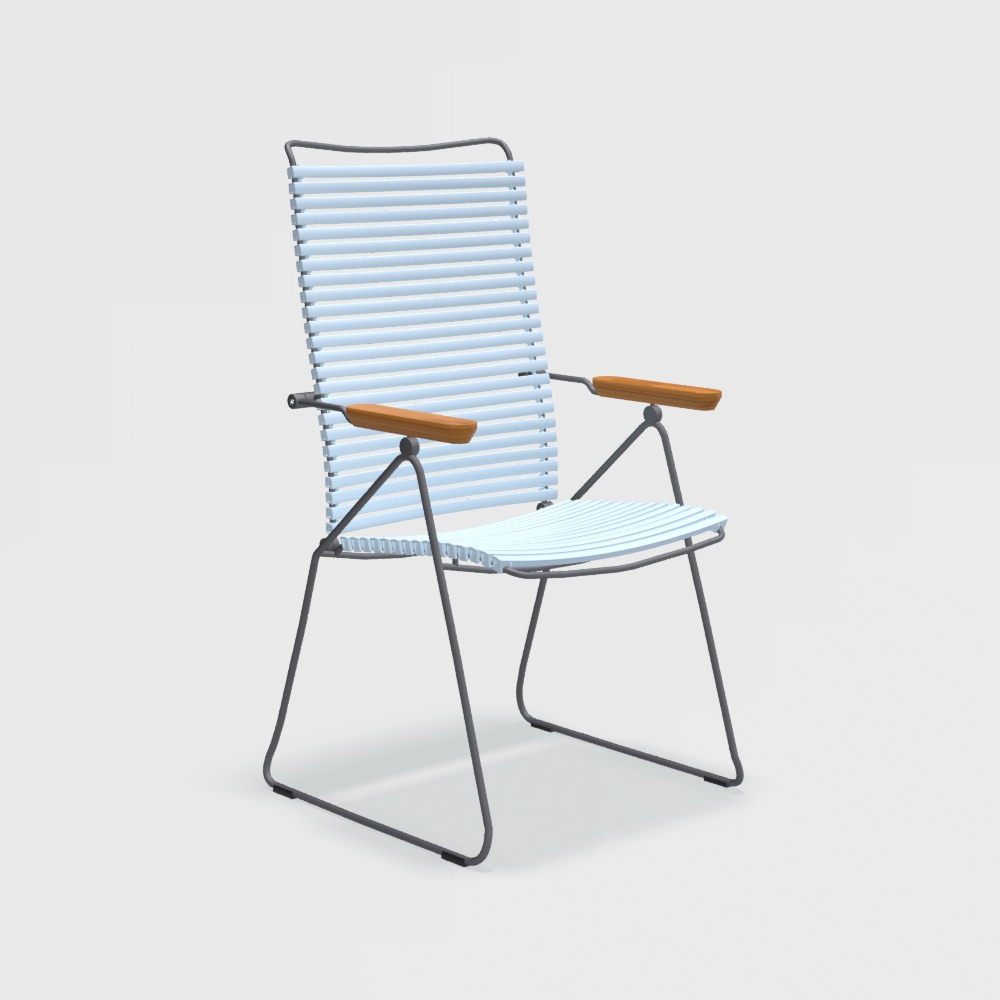 POSITION CHAIR // Dusty Light Blue