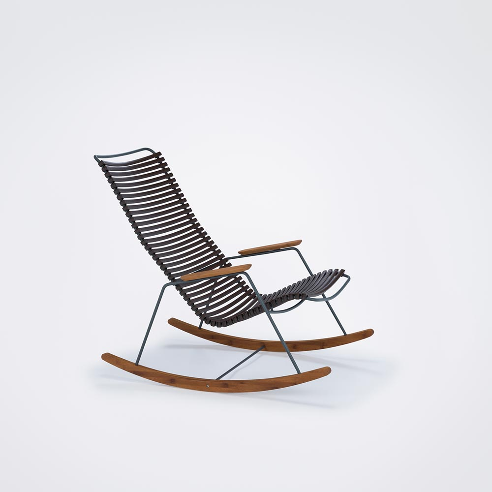 ROCKING CHAIR // Dark brown