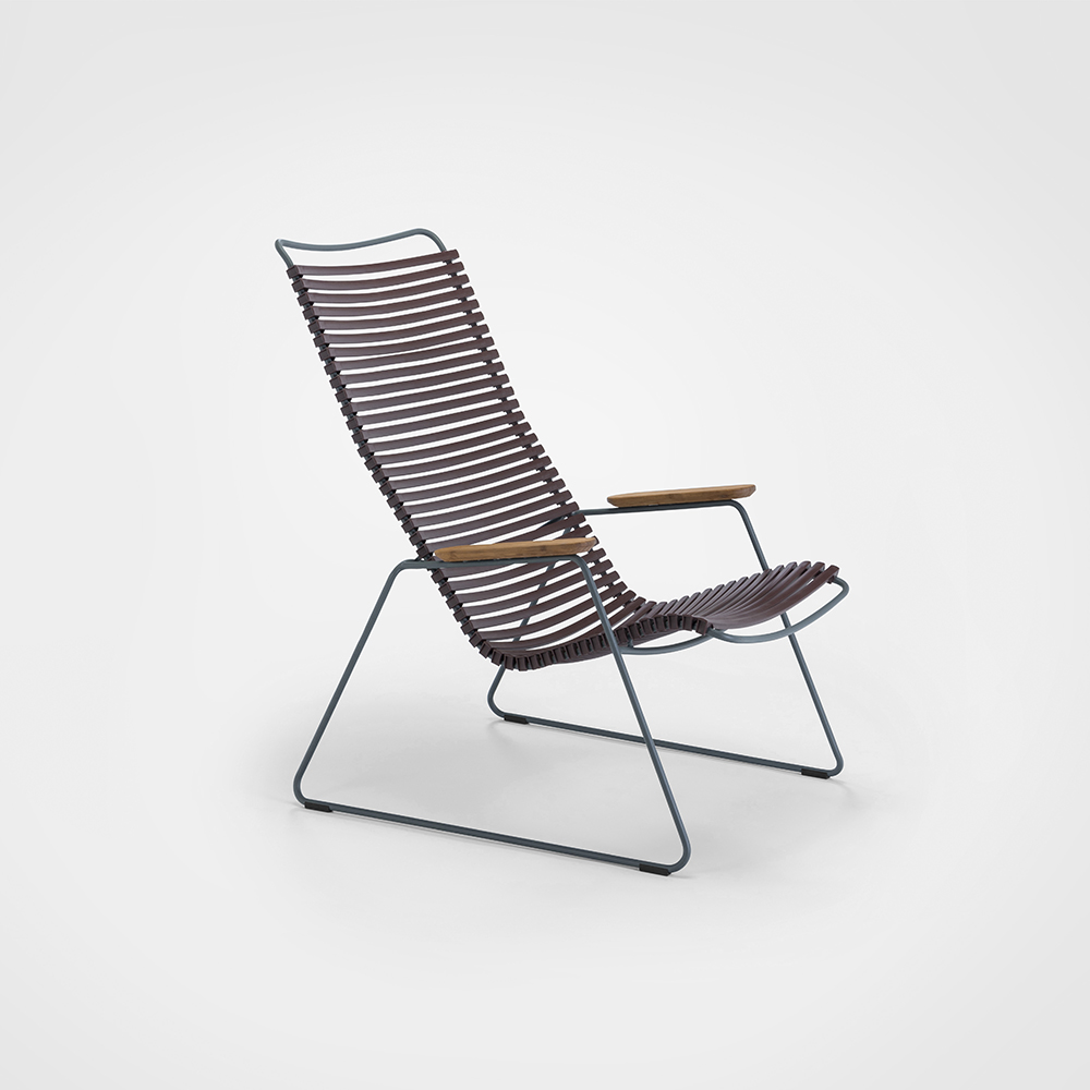 LOUNGE CHAIR // Plum
