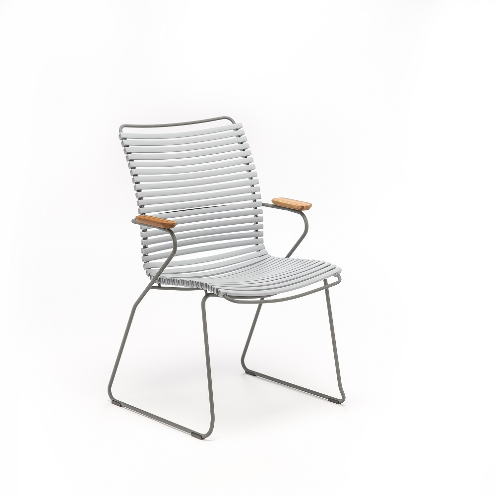 DINING CHAIR TALL BACK // Gray