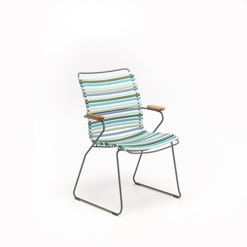 DINING CHAIR TALL BACK // Multi Color 2