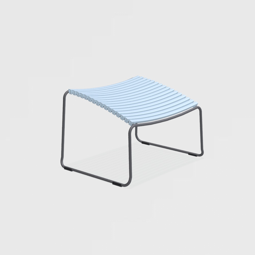 FOOTREST // Dusty Light Blue