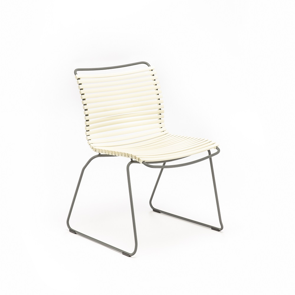 DINING CHAIR NO ARMRESTS // White