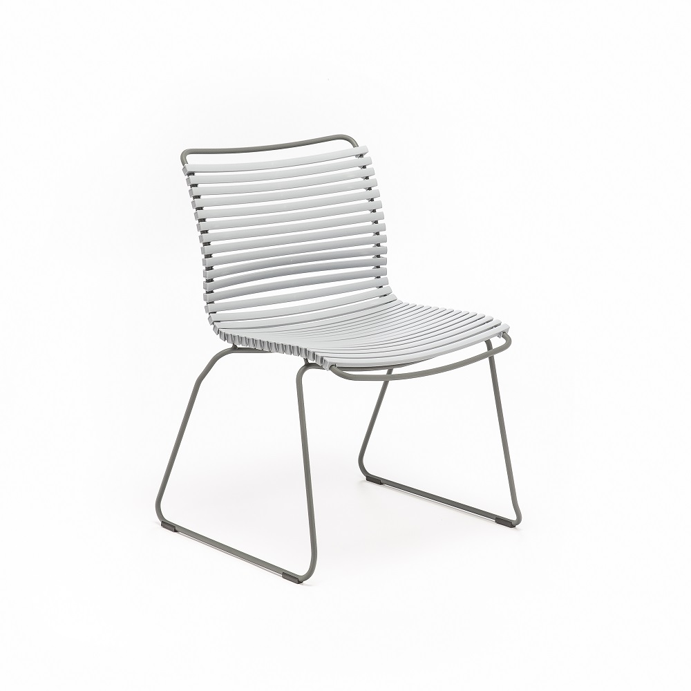 DINING CHAIR NO ARMRESTS // Gray