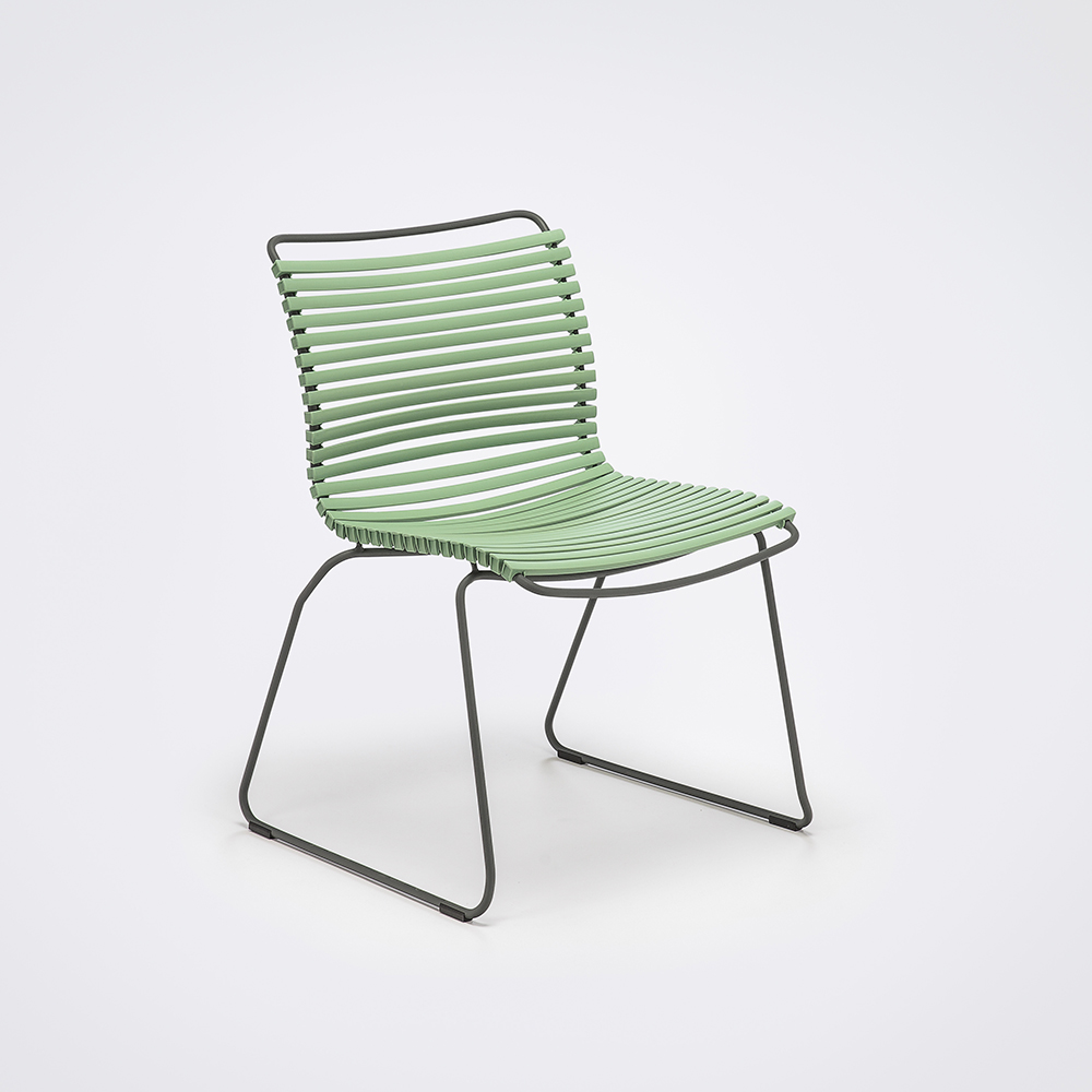 DINING CHAIR NO ARMRESTS // Dusty Green