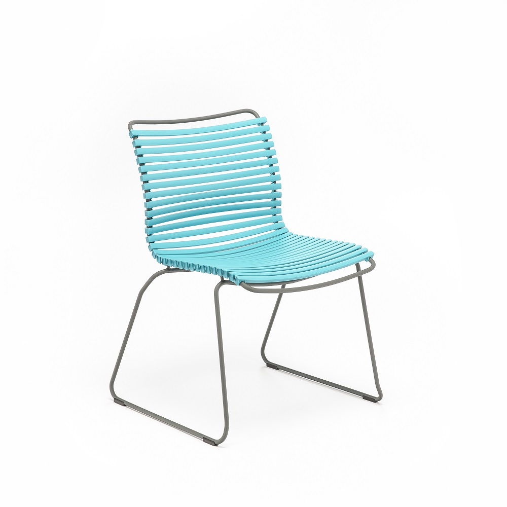 DINING CHAIR NO ARMRESTS // Turquoise
