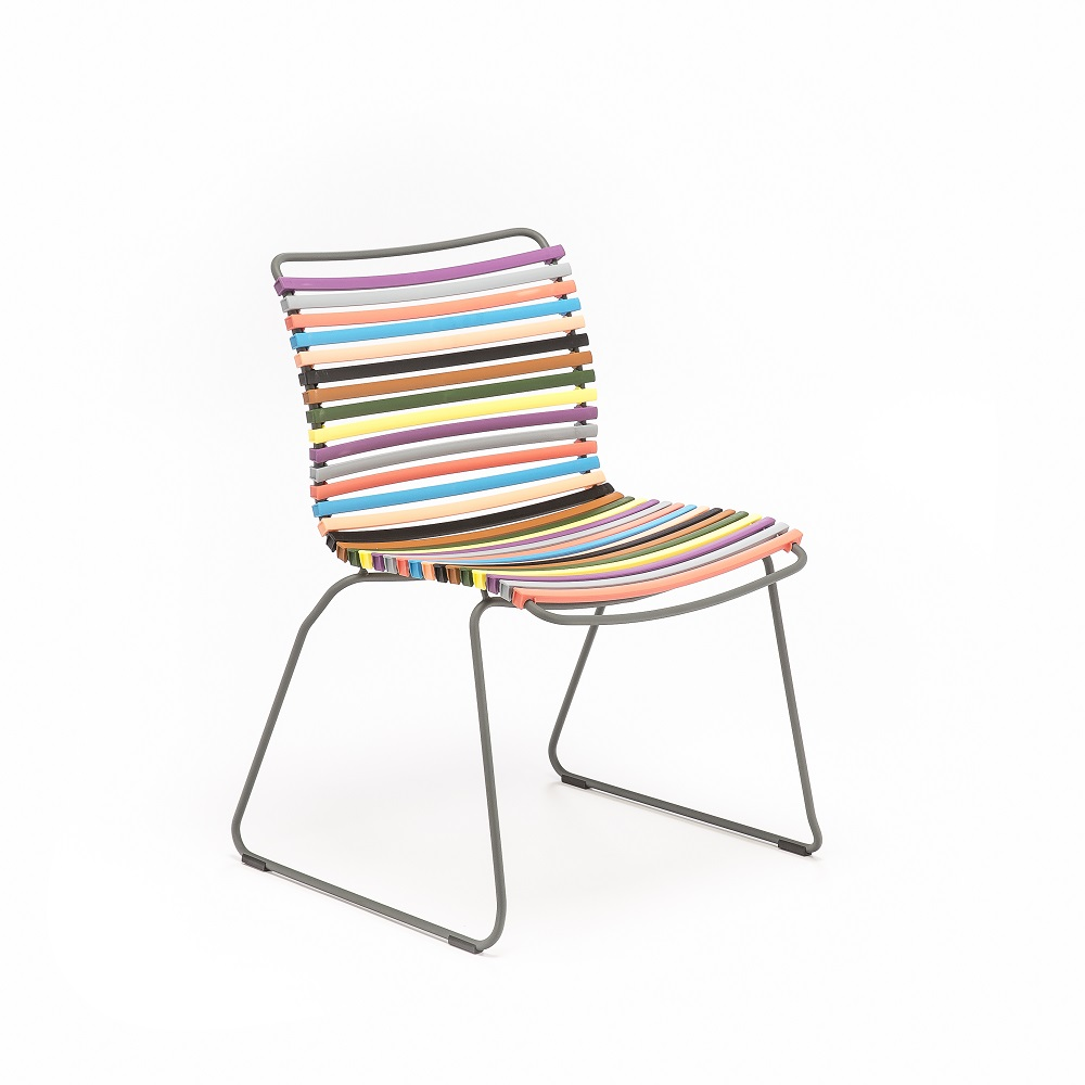 DINING CHAIR NO ARMRESTS // Multi Color 1