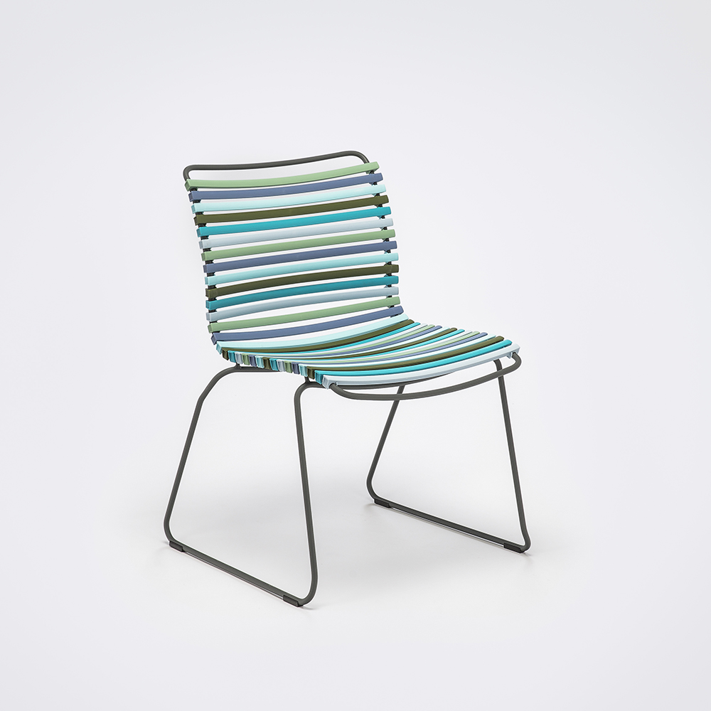 DINING CHAIR NO ARMRESTS // Multi Color 2