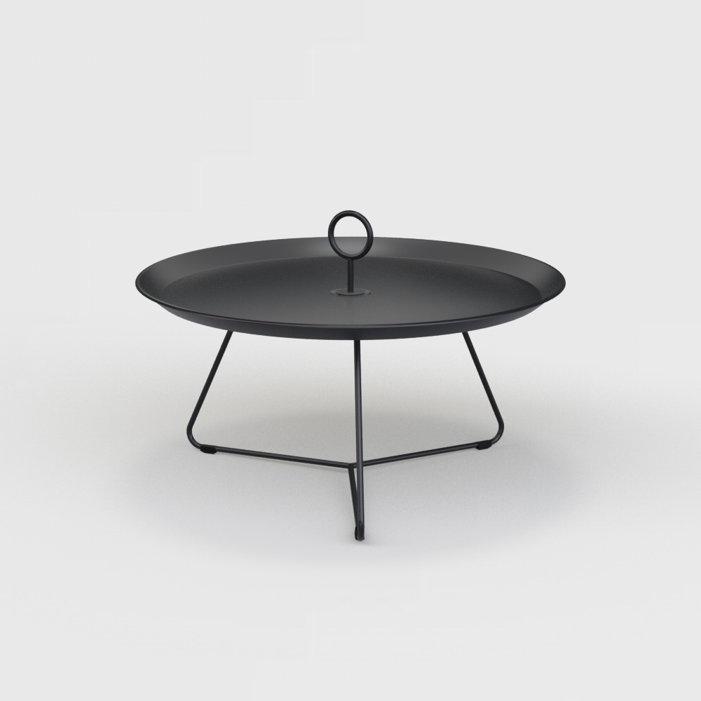 Tray Table Ø70 // Black