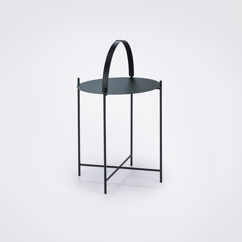 Tray table Ø46 // Pine green