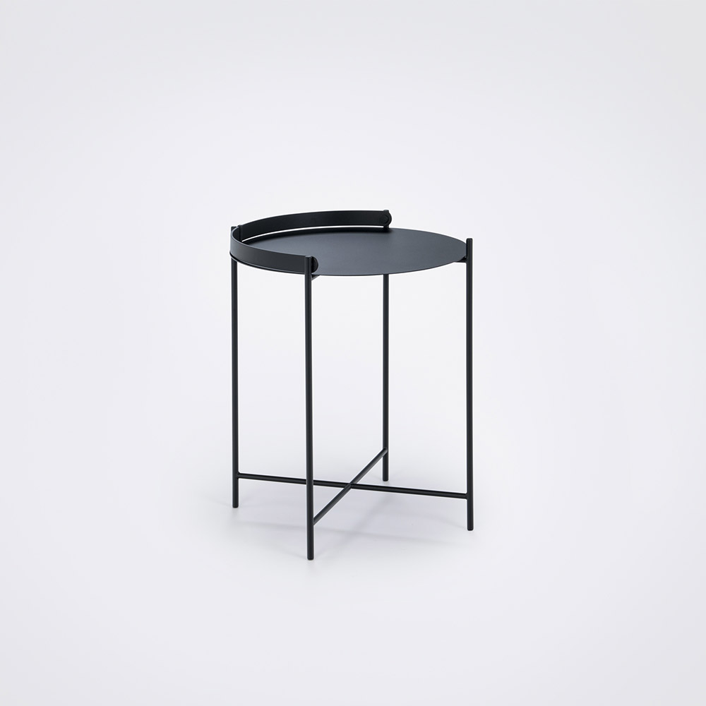 Tray table Ø46 // Black