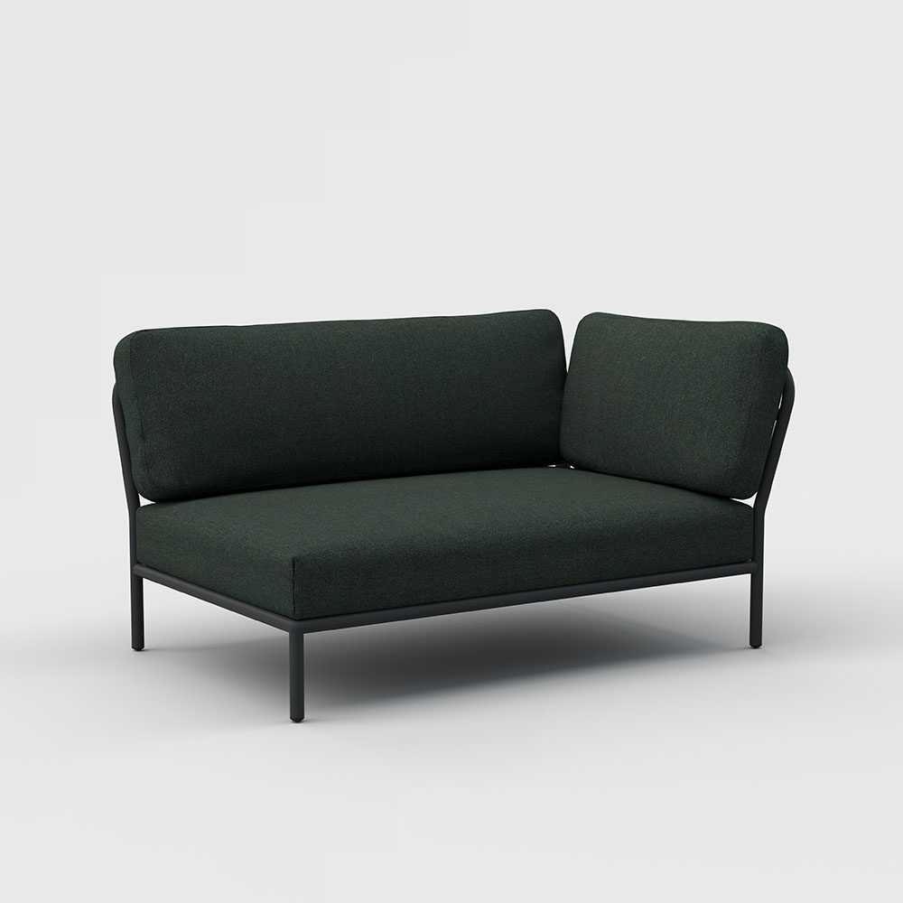 LOUNGE SOFA // Right Corner // Alpine green