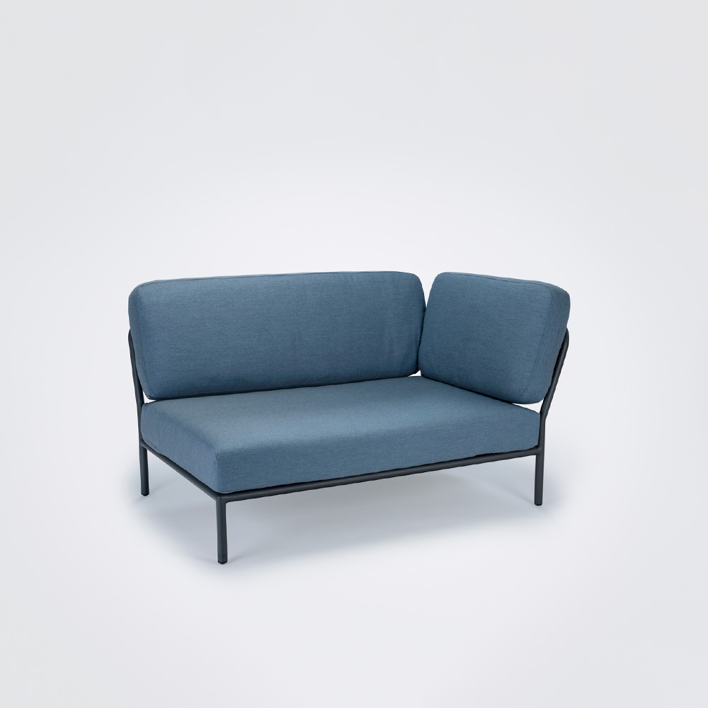 LOUNGE SOFA // Right Corner // Carbon sky