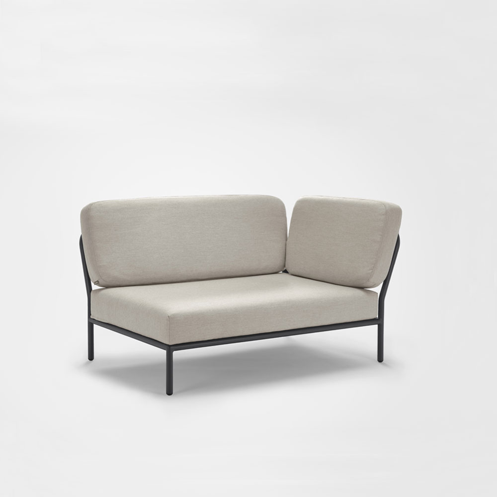 LOUNGE SOFA // Right Corner // Graumel chalk
