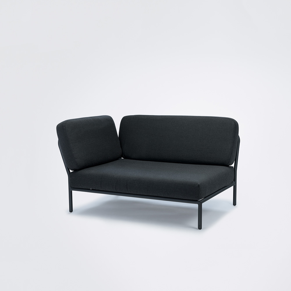 LOUNGE SOFA // Left Corner // Sooty grey