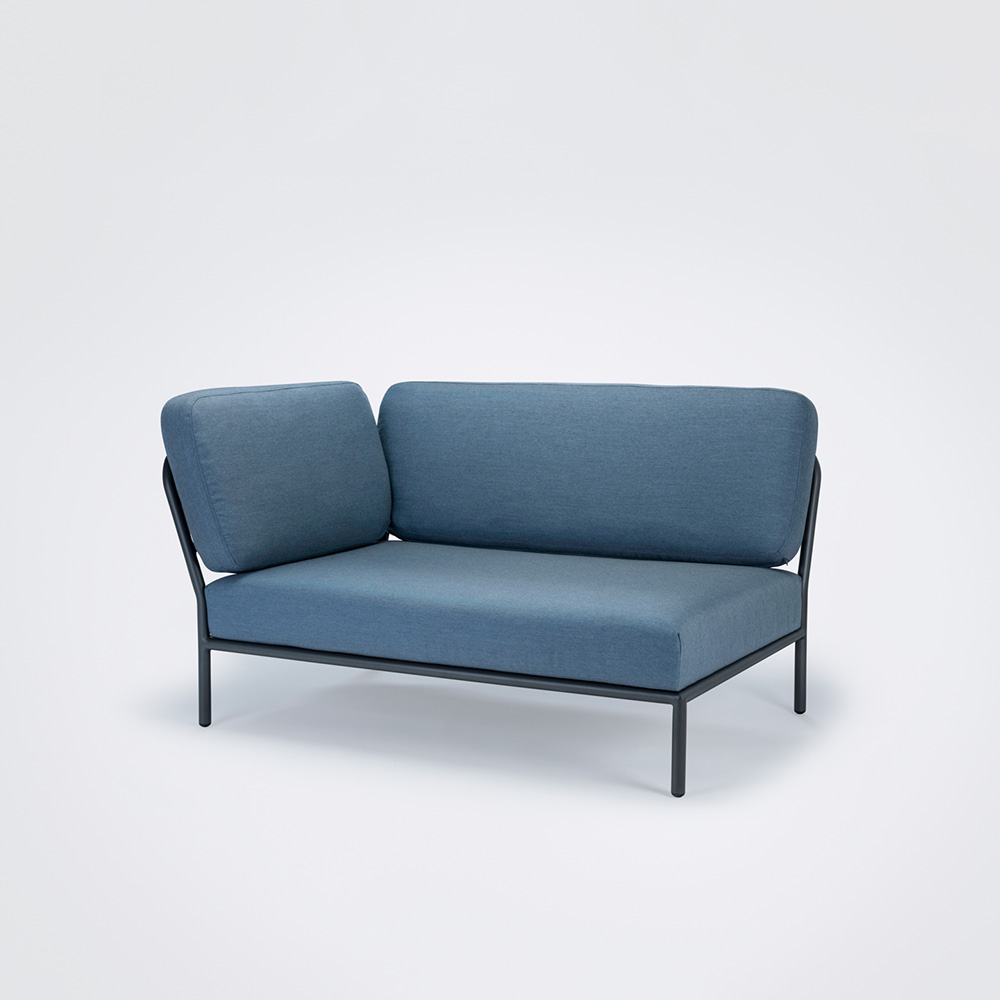 LOUNGE SOFA // Left Corner // Carbon sky