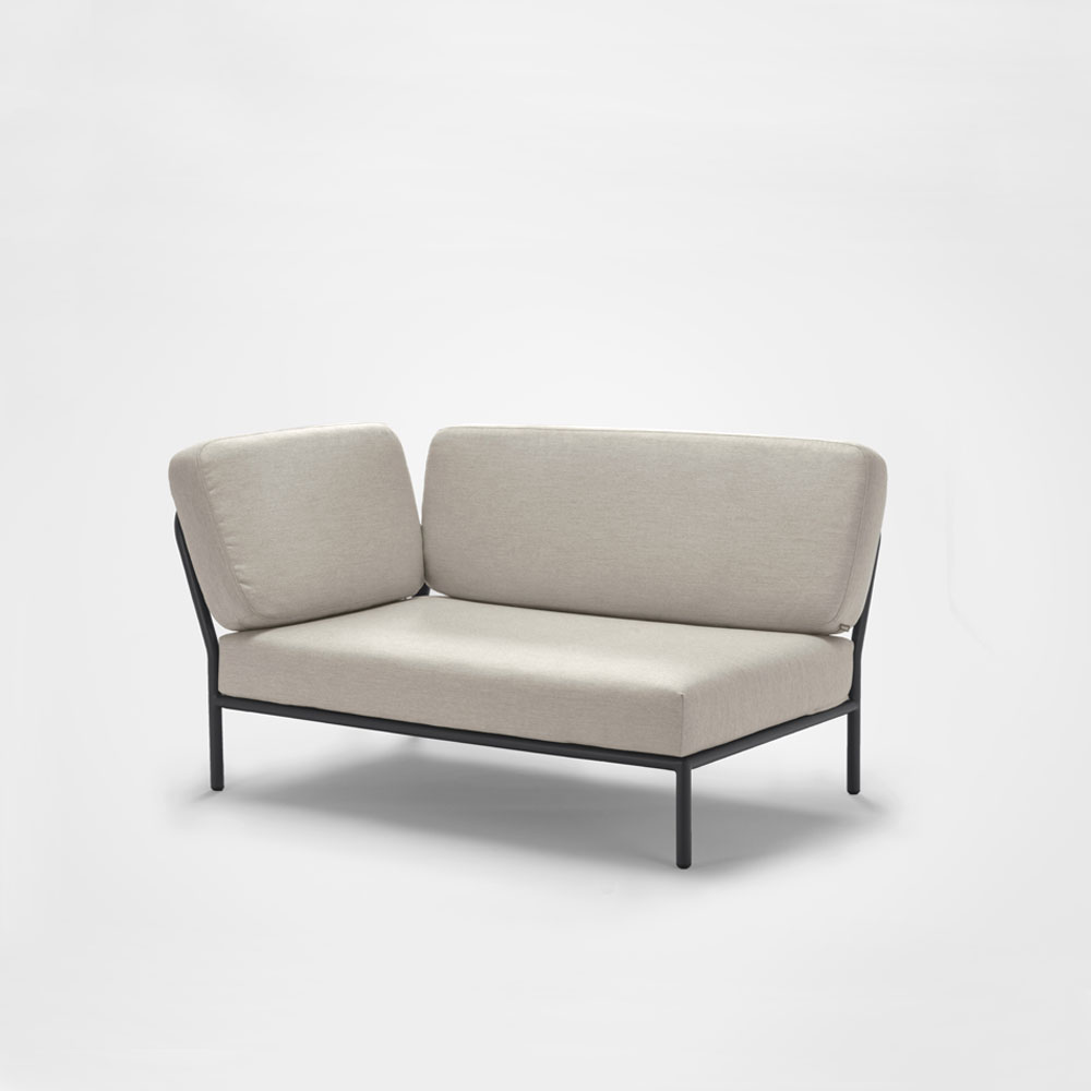 LOUNGE SOFA // Left Corner // Graumel chalk