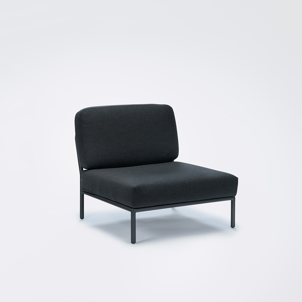 LOUNGE CHAIR // Single module // Coal grey