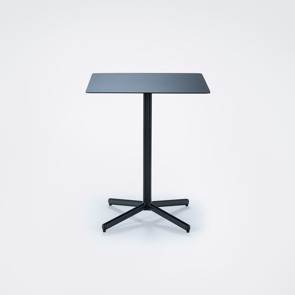 CAFE TABLE Square 60x60 cm // Black