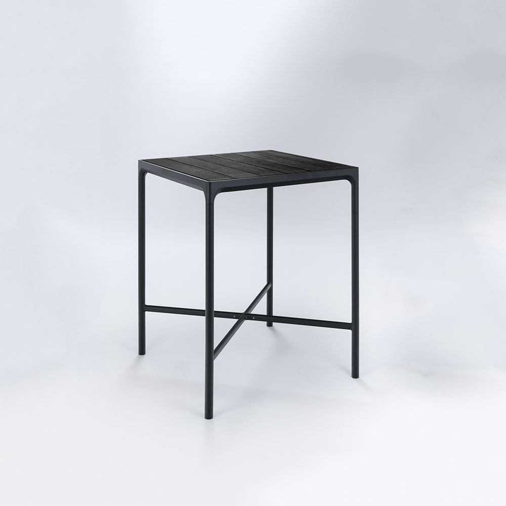 BAR TABLE 90X90 cm // Black