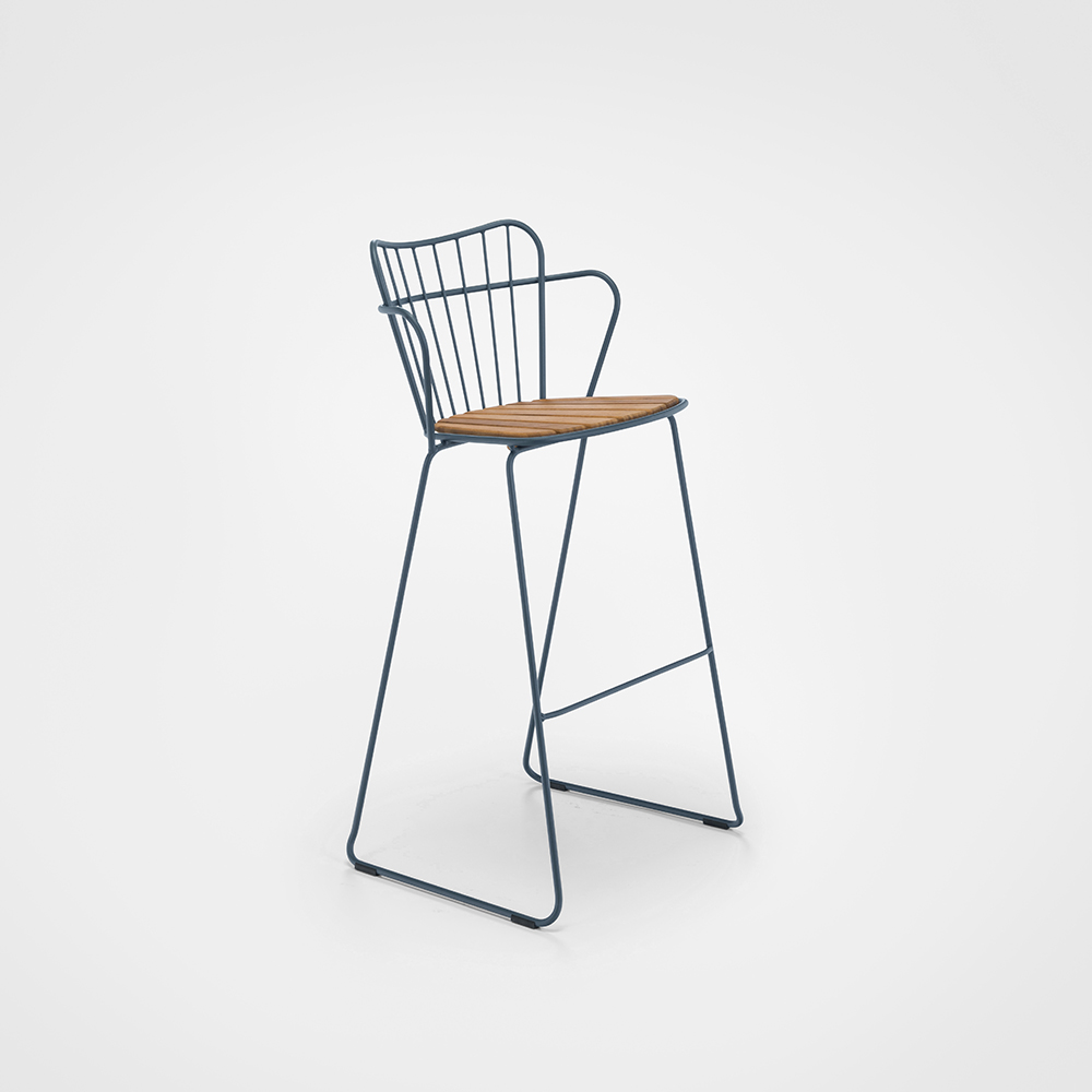 BAR STOOL // Midnight blue