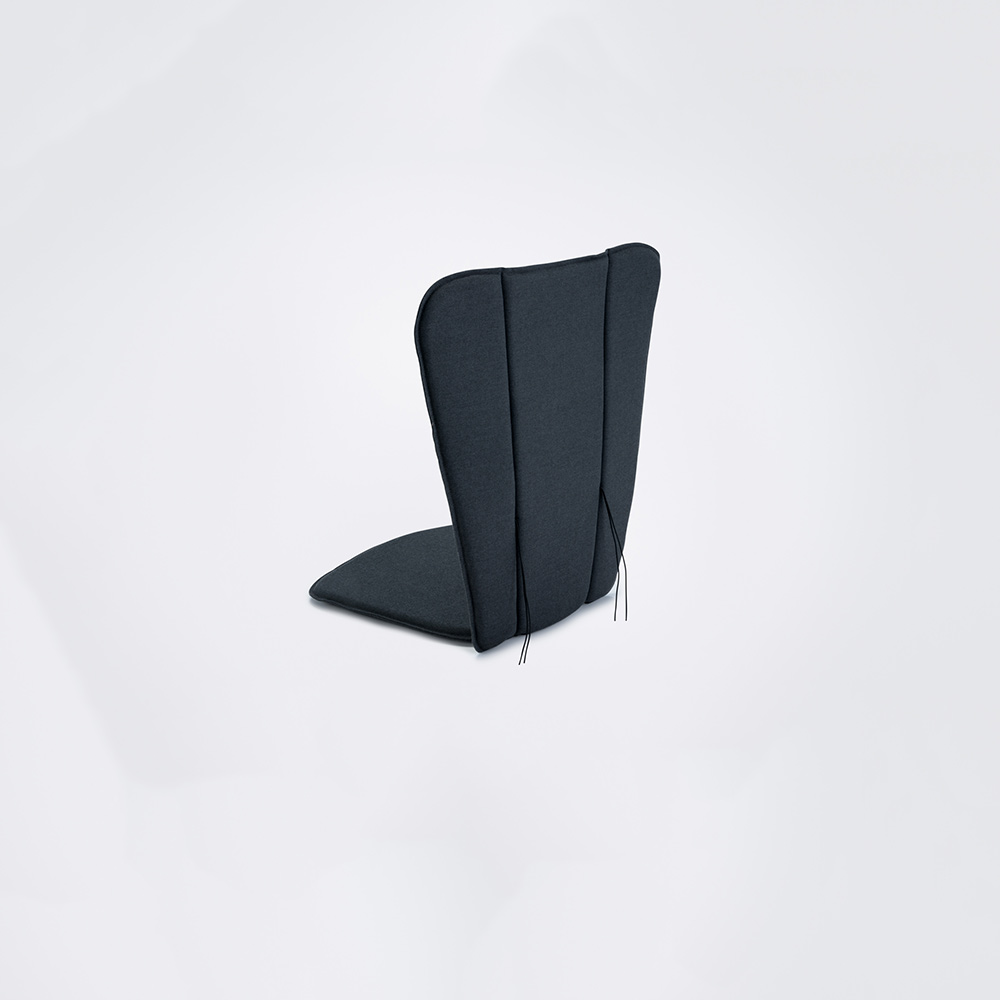 LOUNGE & ROCKING CHAIR CUSHION // Carbon grey