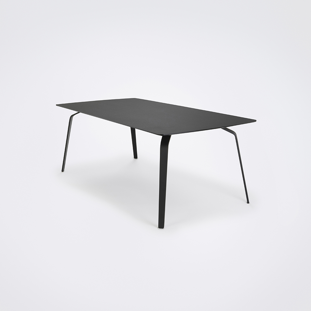 DINING TABLE 208cm // Black Linoleum