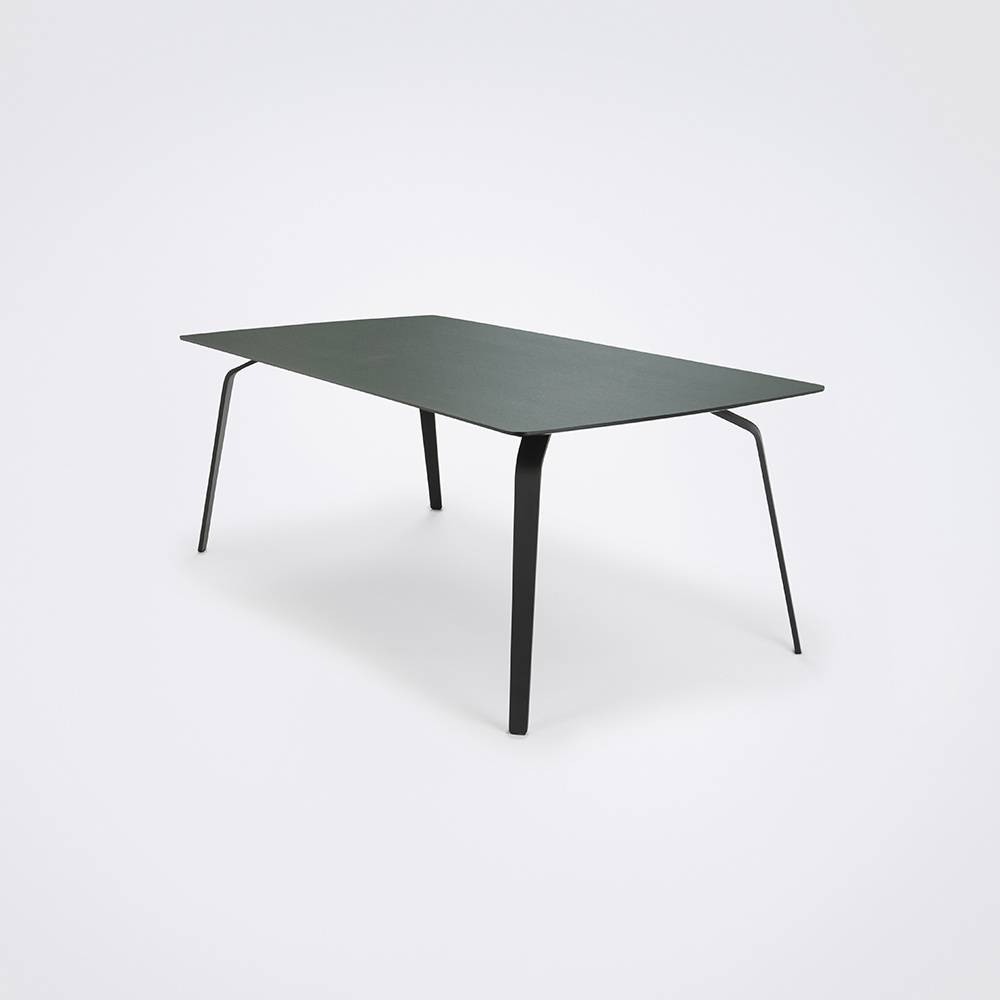 DINING TABLE 208cm // Dark Green Linoleum