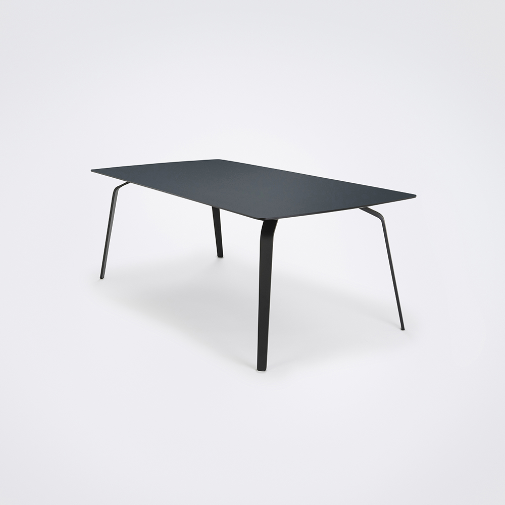 DINING TABLE 208cm // Smokey Blue Linoleum