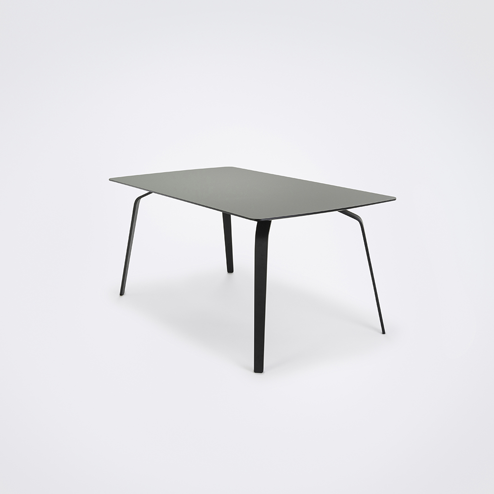 DINING TABLE 168cm // Ash Gray Linoleum