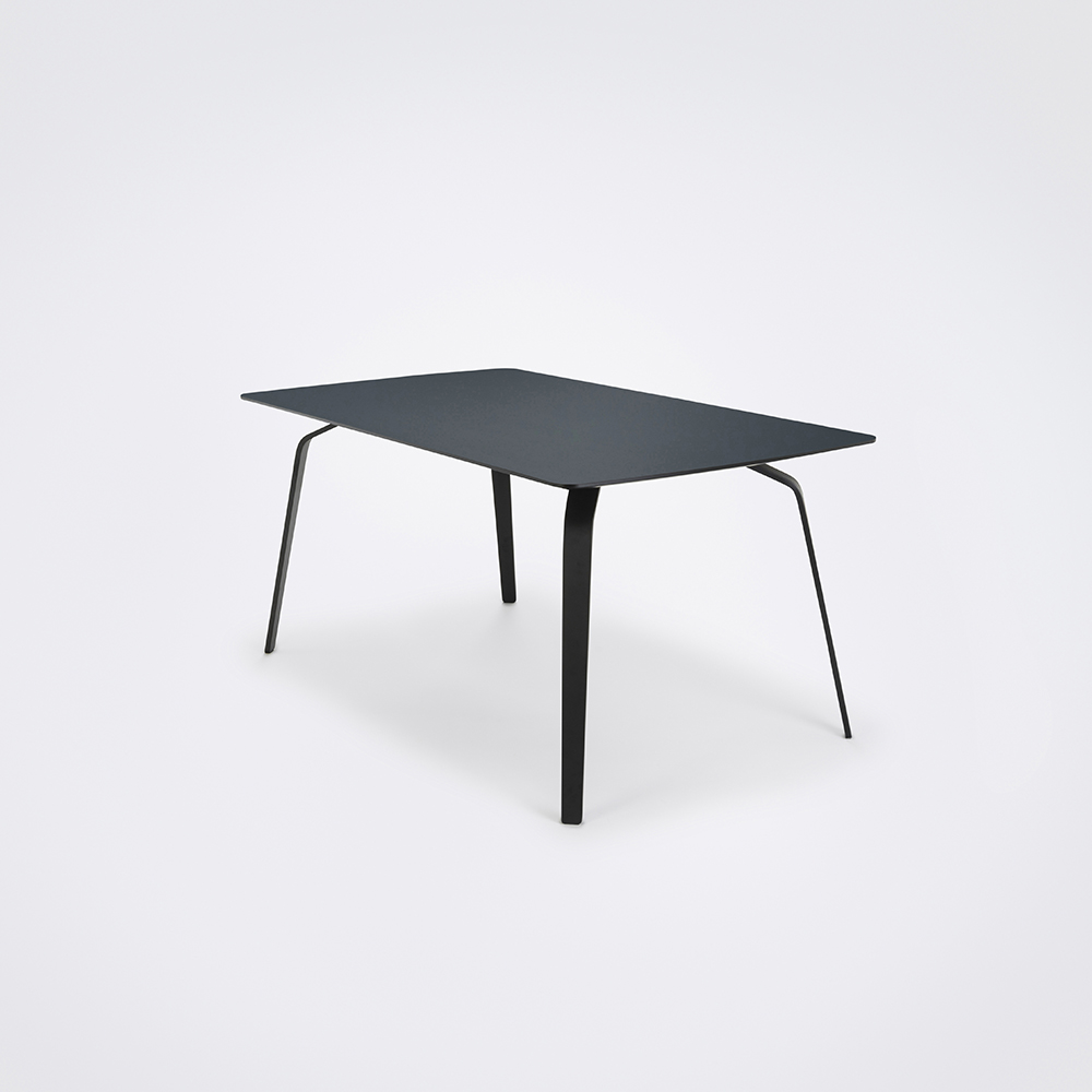 DINING TABLE 168cm // Smokey Blue Linoleum