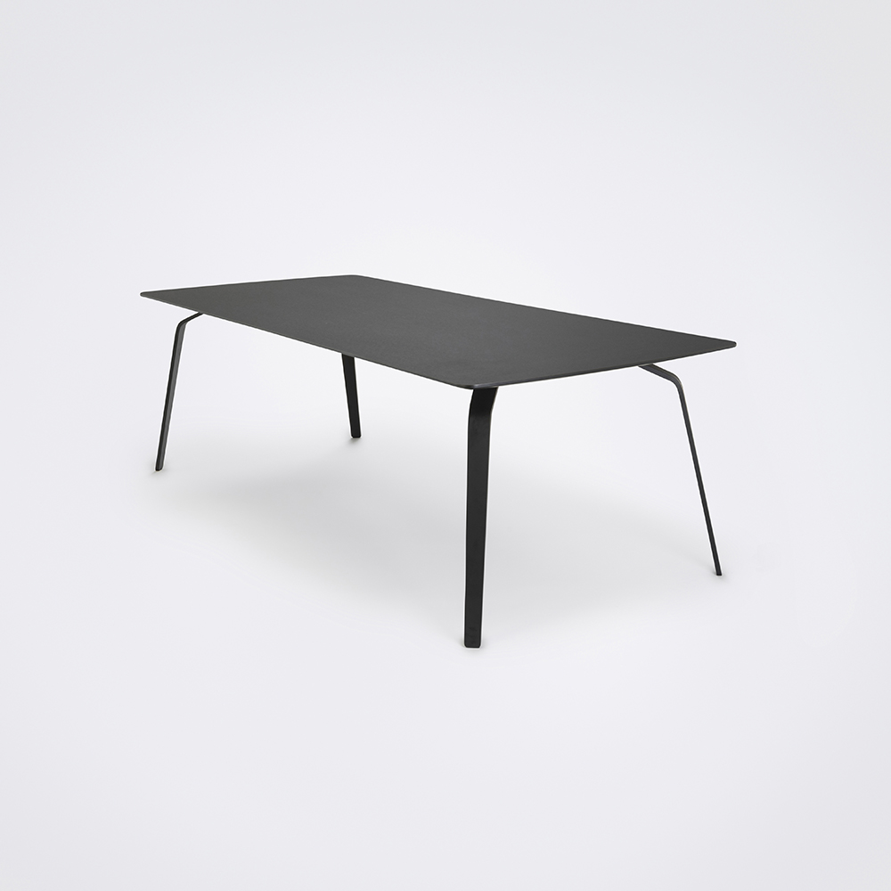 DINING TABLE 242cm // Black Linoleum