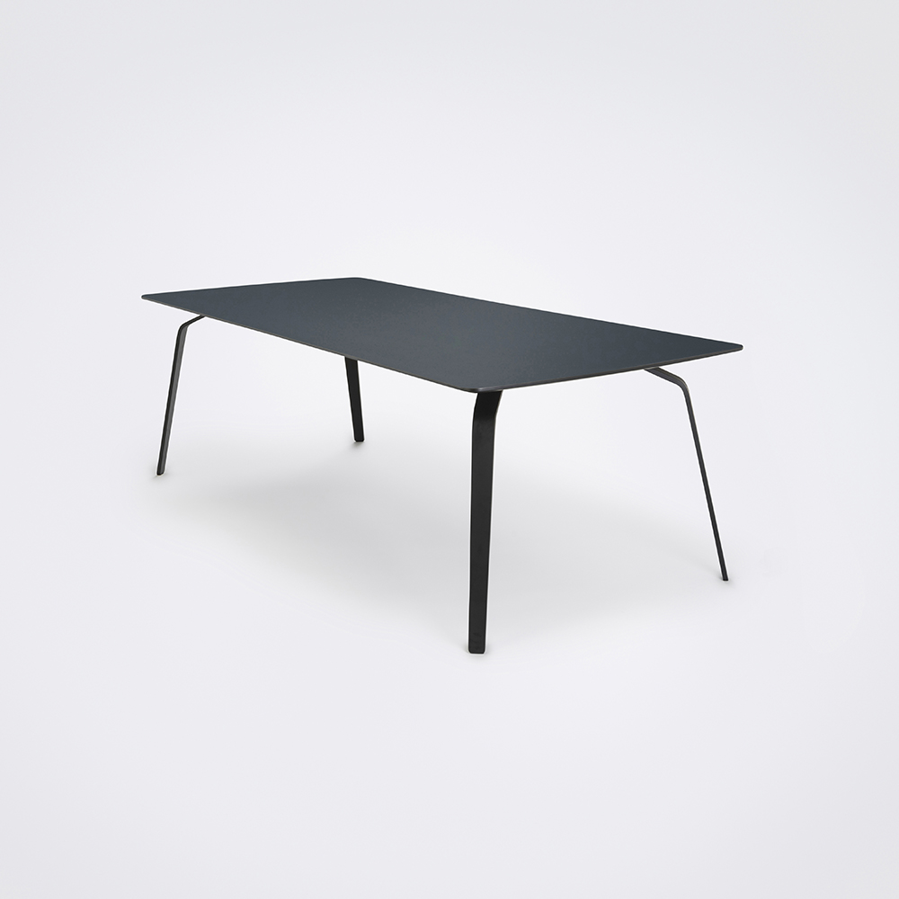 DINING TABLE 242cm // Smokey Blue Linoleum