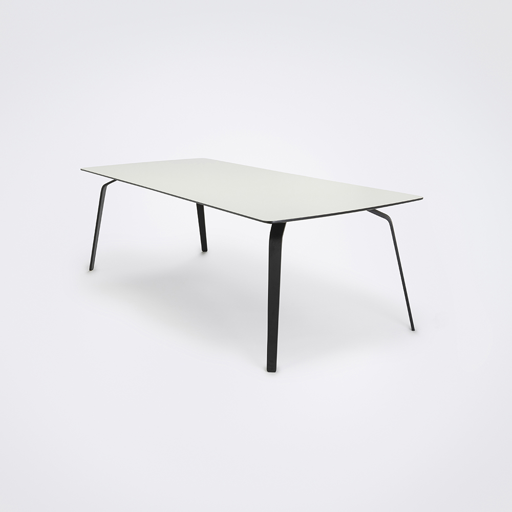 DINING TABLE 242cm // White Laminate