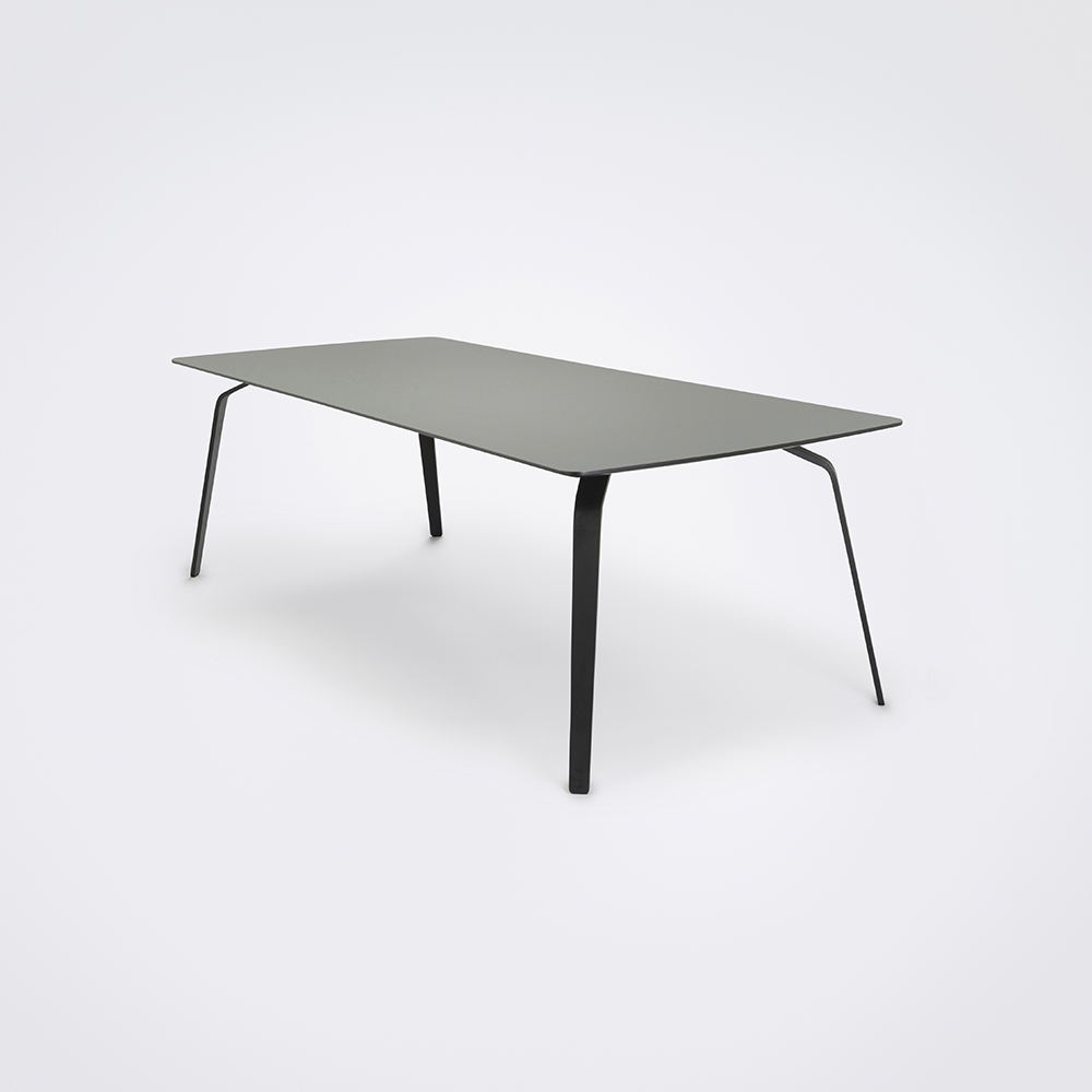 DINING TABLE 242cm // Ash Gray Linoleum