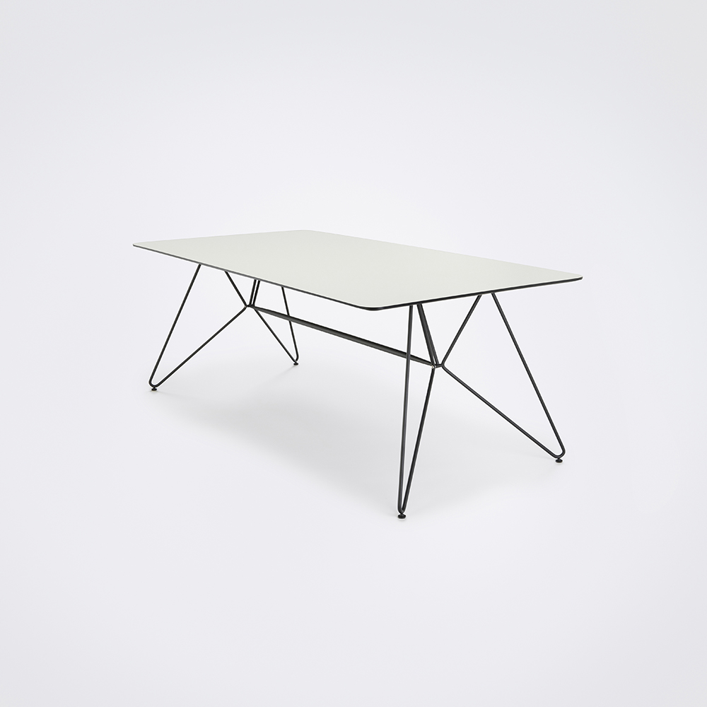 DINING TABLE 205cm // White Laminate
