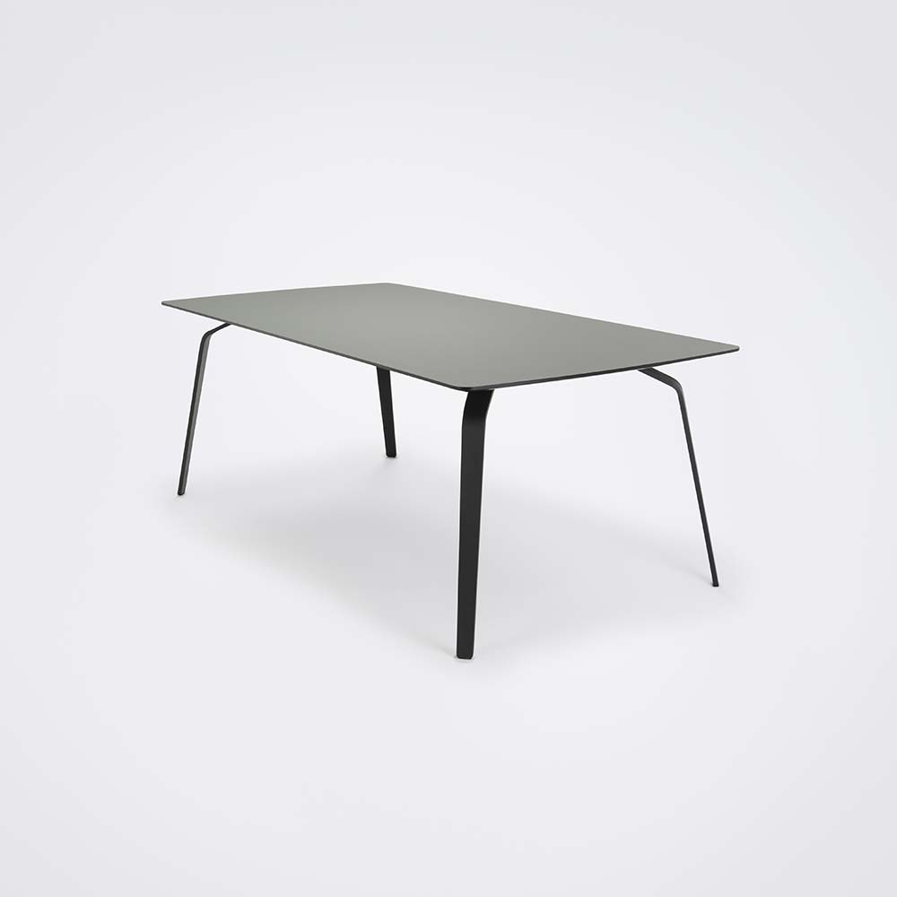 DINING TABLE 208cm // Ash Gray Linoleum
