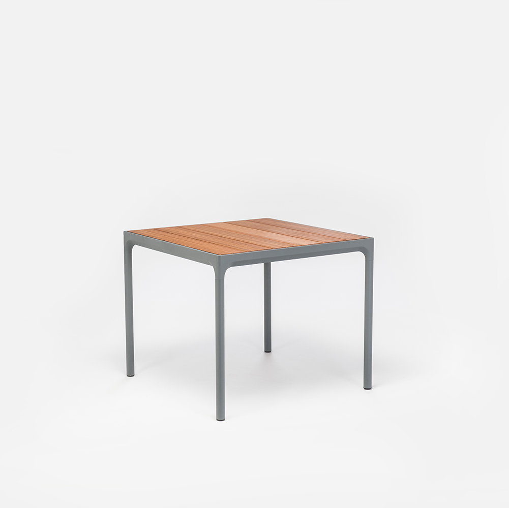 DINING TABLE 90X90 cm // Bamboo